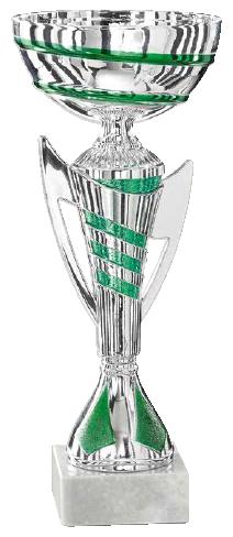 Coppa Argento, colore Verde - rif. 1260