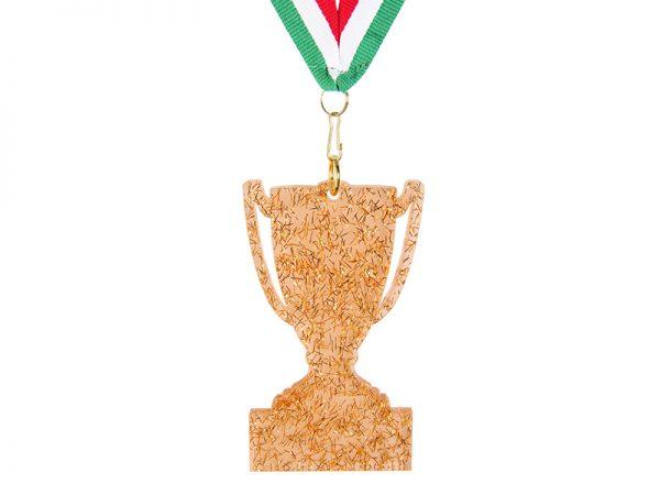 Medaglia a Coppa in Plexiglas 29817-3