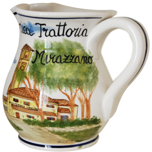 Brocca in Ceramica Personalizzata