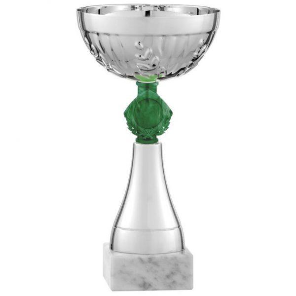Coppa Argento e verde 9418