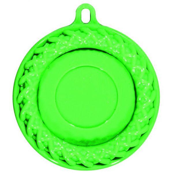Medaglia Fluo Plastica 5,5 cm - SR PM60